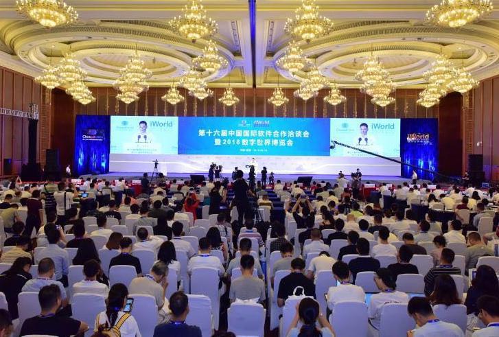 第十六届中国国际软件合作洽谈会开幕