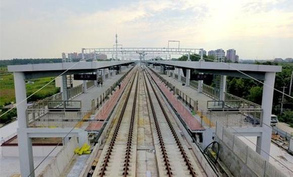 成蒲铁路今起联调联试 力争年内开通运营