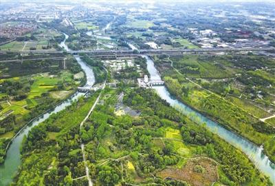 空中鸟瞰地面探访成都水源地水质到底怎么样?