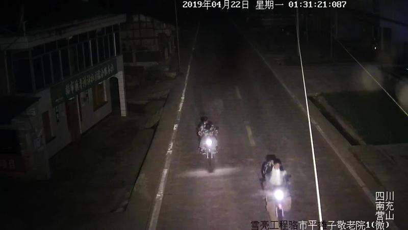 四名嫌疑人盗窃了摩托车骑回渠县.jpg