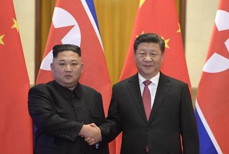 2018年以来中朝最高领导人的四次会晤
