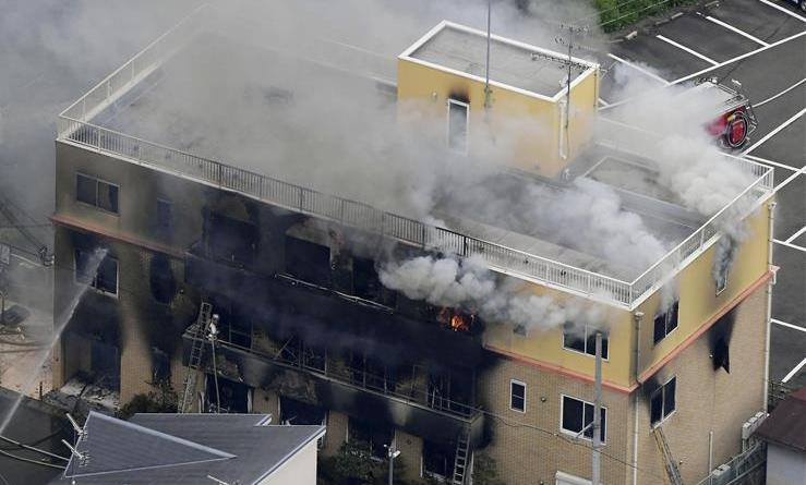 京都纵火案已致33人死亡
