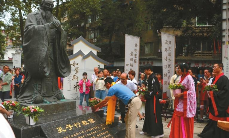 乐山文庙启动70年来首次大修