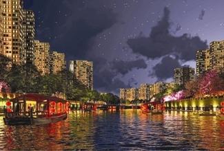 """成都首个城市夜景照明规划出炉,划定""""暗夜保护区"""""""