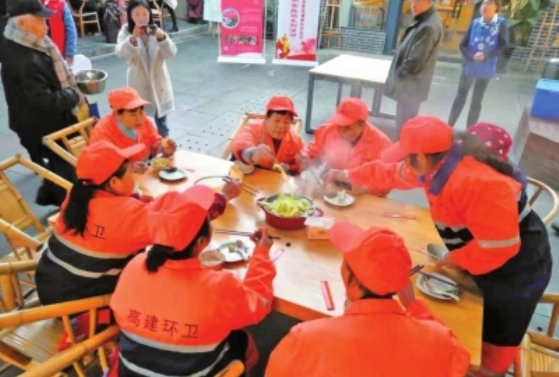 南虹村社区暖冬一家亲邻里节举行