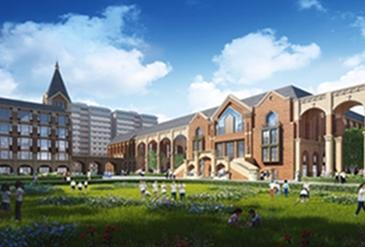 北京市二十一世纪国际学校成都校区封顶!今年9月开学