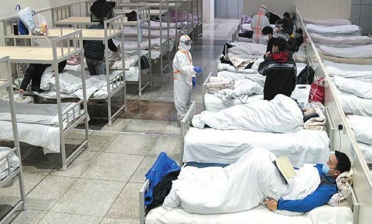 武汉开放床位最多方舱医院累计出院破千人