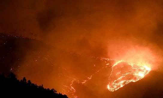 西昌经久乡森林火灾明火被扑灭
