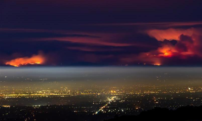 """山火频频肆虐 美国加州:""""为啥受伤的总是我"""""""