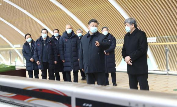习近平:高铁是我国自主创新的一个成功范例