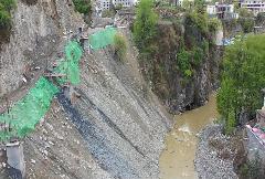 曝光典型案例|阿坝州S217卓小路(抚边段)道路施工造成生态破坏