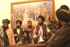 阿富汗塔利班进入喀布尔
