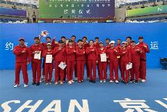 全运赛况|网球团体摘金 四川全运会群众项目再添一金
