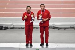 全运赛况|第14、15金!四川队包揽全运会400米男女金牌