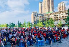 白桦林路社区:社企联动 共同组织喜迎国庆主题活动