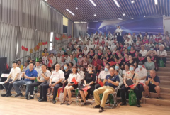 下涧槽社区:组织迎国庆主题活动